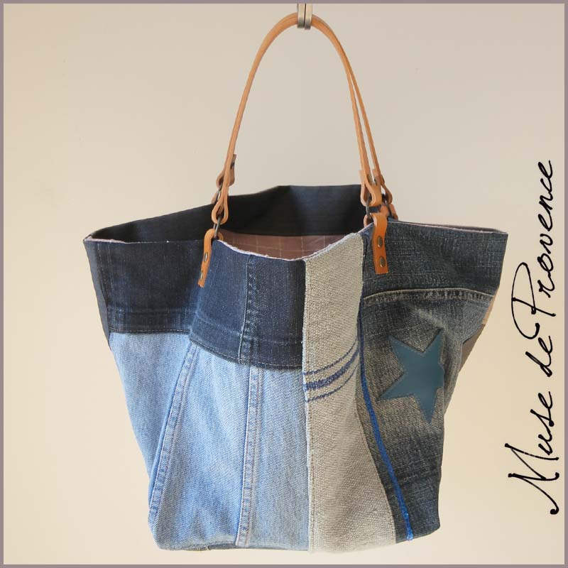 tuto sac en jean sac besace jean mois recycl with tuto sac en jean excellent with tuto sac en. Black Bedroom Furniture Sets. Home Design Ideas