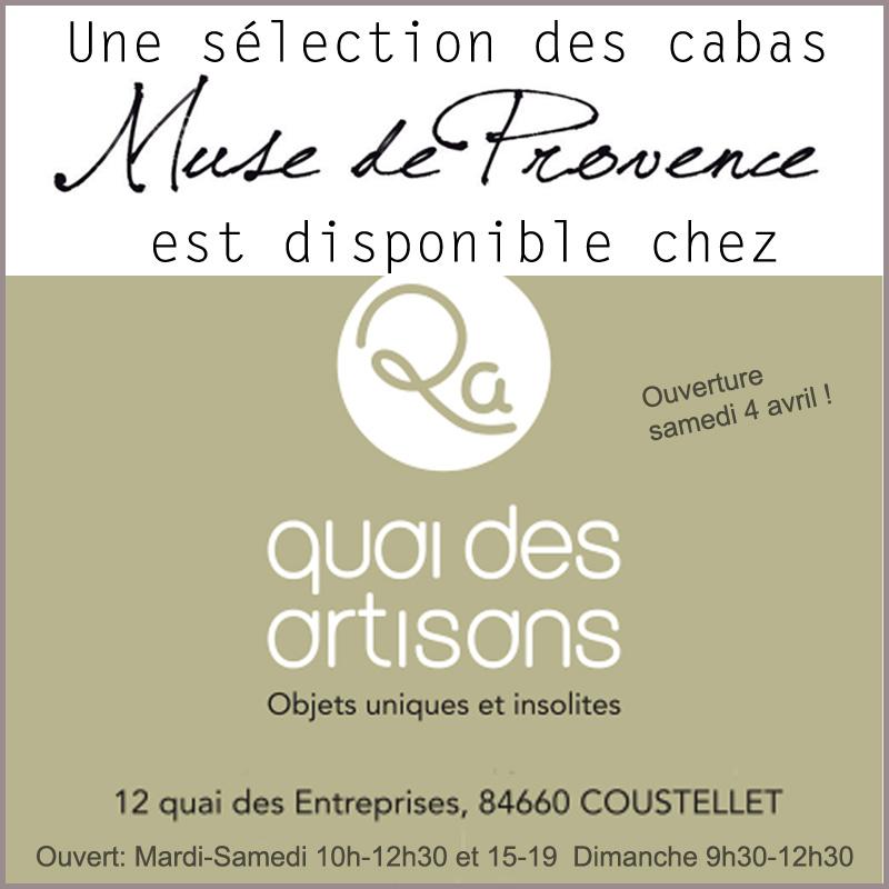 Muse chez Quai des Artisans à Coustellet
