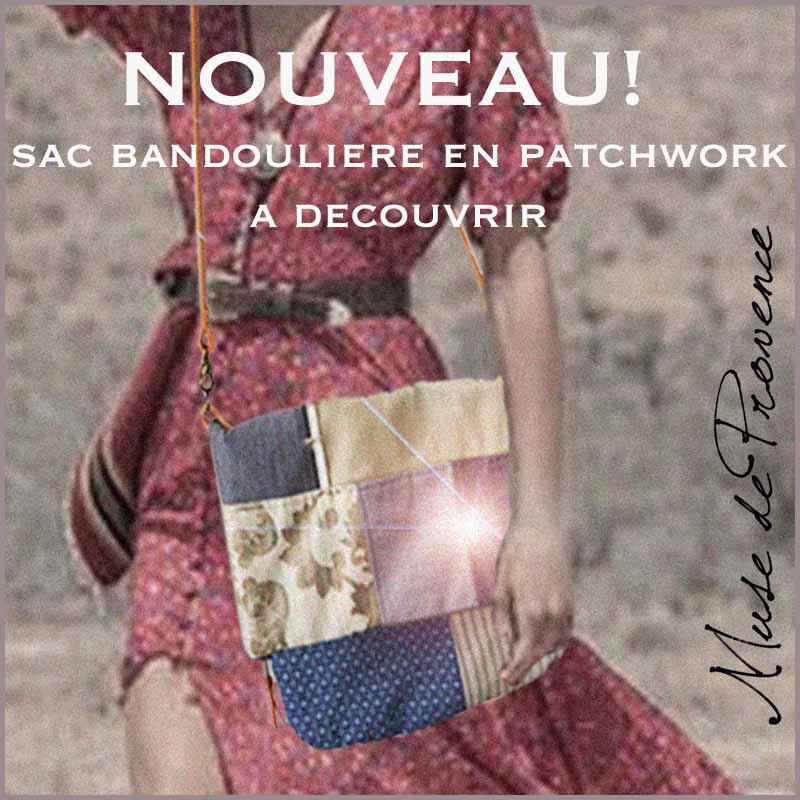 Sac à bandoulière by Muse de Provence