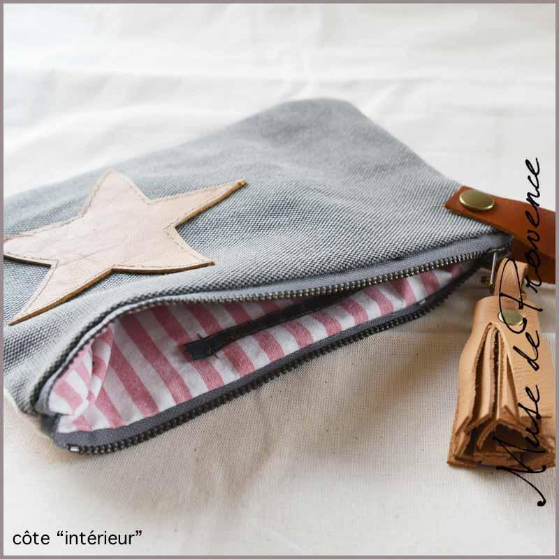 Le sac pochette de Muse de Provence
