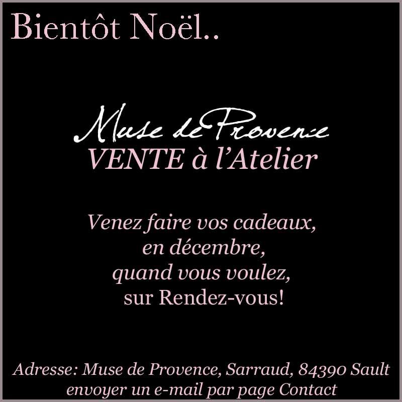 Vente chez Muse de Provence